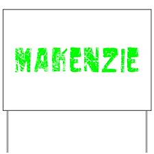 Makenzie Faded (Green) Yard Sign
