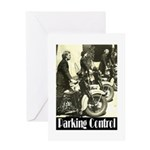 Parking Control Greeting Card