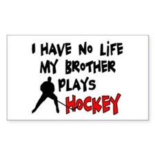 No Life Brother Rectangle Decal