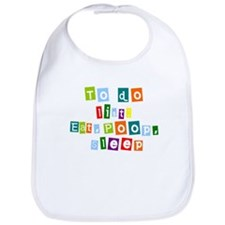 To do list Baby Bib