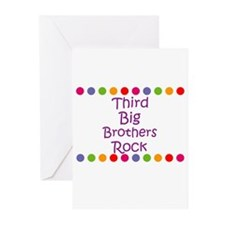 Third Big Brothers Rock Greeting Cards (Pk of 10)