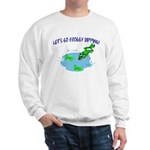 Froggy Dipping Sweatshirt