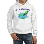 Froggy Dipping Hooded Sweatshirt
