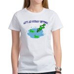 Froggy Dipping Women's T-Shirt
