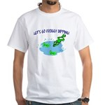 Froggy Dipping White T-Shirt