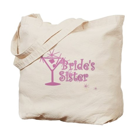 Pink C Martini Bride's Sister Tote Bag