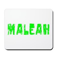 Maleah Faded (Green) Mousepad