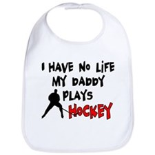No Life Daddy Hockey Bib