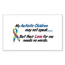 Needs No Words 1 (Children) Rectangle Sticker 10