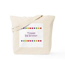 Triplet Big Brother Tote Bag