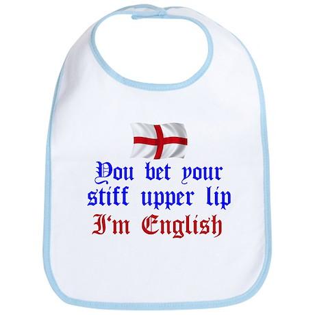 Stiff Upper Lip Bib