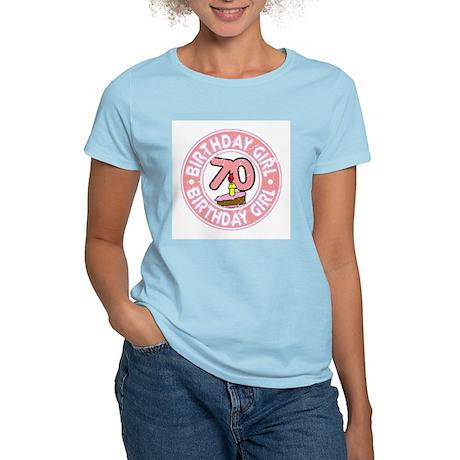 Birthday Girl #70 Women's Light T-Shirt