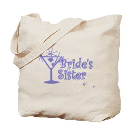 Indigo C Martini Bride's Sister Tote Bag