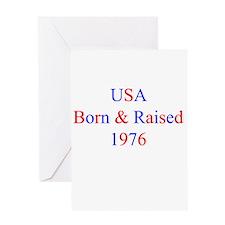 1976 USA Greeting Card