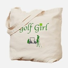 Lucky Golf Girl - Tote Bag