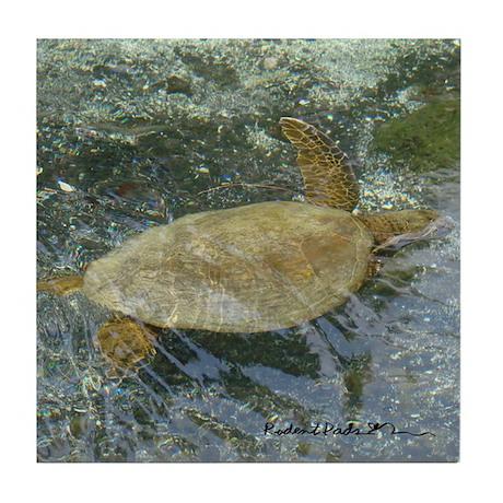 Hawaii Sea Turtle Salute Coater