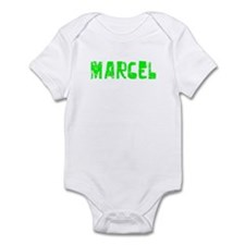 Marcel Faded (Green) Infant Bodysuit