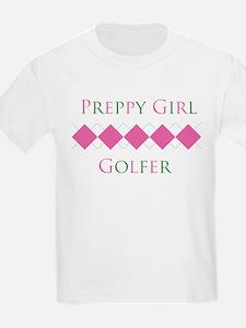 Preppy Girl Golfer - T-Shirt
