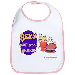 Sexy Fast Food Worker Bib