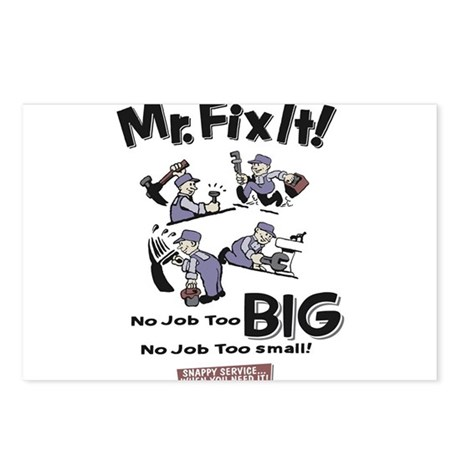 No Job too Big Postcards (Package of 8)