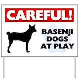 Careful dog signs Yard Signs