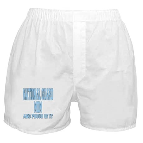 National Guard Mom Proud Boxer Shorts