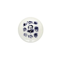 Poe and His Works Mini Button (100 pack)