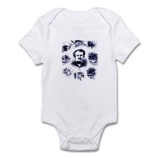 Poe and His Works Infant Bodysuit