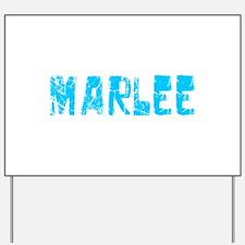 Marlee Faded (Blue) Yard Sign