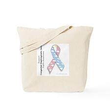 CDH Awareness Ribbon Tote Bag