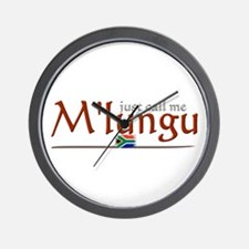 Just Call Me M'lungu - Wall Clock