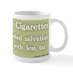 Jesus Cigarettes Coffee Mug