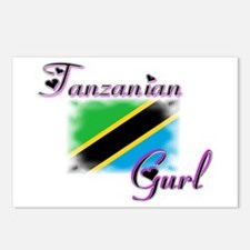 Tanzanian Gurl - Postcards (Package of 8)