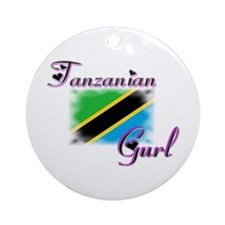 Tanzanian Gurl - Ornament (Round)