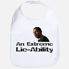 Obama Lie-Ability Bib