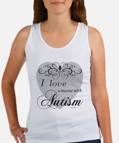 I love Someone With Autism ~ Women's Tank Top