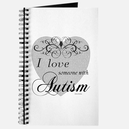 I love Someone With Autism ~ Journal