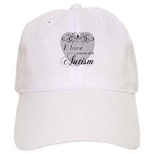 I love Someone With Autism ~ Baseball Cap