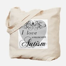I love Someone With Autism ~ Tote Bag