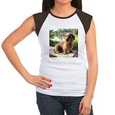 By The Lake Women's Cap Sleeve T-Shirt