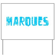 Marques Faded (Blue) Yard Sign