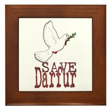 Save Darfur - Framed Tile