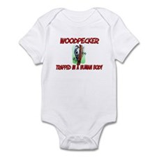 Woodpecker trapped in a human body Infant Bodysuit