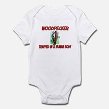 Woodpecker trapped in a human body Infant Bodysuit