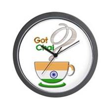Got Chai? Indian - Wall Clock