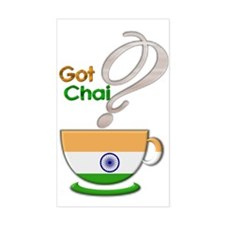 Got Chai? Indian - Rectangle Decal