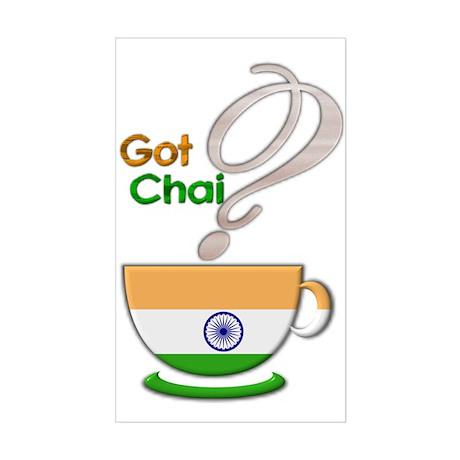 Got Chai? Indian - Rectangle Sticker