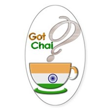 Got Chai? Indian - Oval Decal