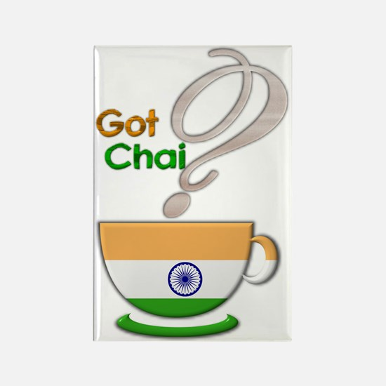 Got Chai? Indian - Rectangle Magnet