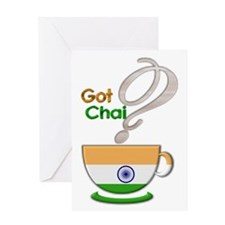Got Chai? Indian - Greeting Card